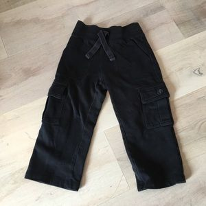 Old Navy Toddler Boys Black Comfy Pants - Size 2T